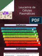 Leucemia de celulas plasmaticas