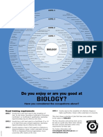 do you enjoy or are you good at biology - a4c