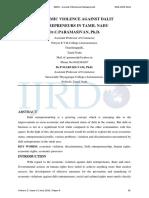 ECONOMIC VIOLENCE AGAINST DALIT ENTREPRENEURS IN TAMIL NADU.pdf