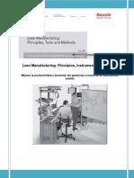 Lean Manufacturing BOSH. Principios, Instrumentos y Métodos
