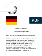 modelo de documento onu