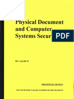 IRS Physical Document and Computer System Security, Form #09.039