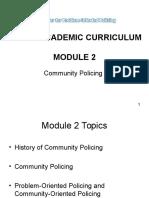 Model Academic Curriculum-module 2