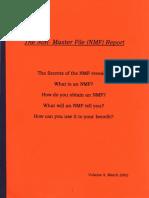 The Non Master File (NMF) Report, Form #09.058