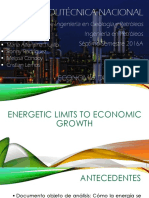 ENERGETIC LIMITS TO ECONOMIC GROWTH