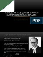 Capítulo 9 y 10 Del Alan Chalmers (Versión 2)