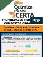 PROPRIEDADES FÍSICAS DOS COMPOSTOS ORGÂNICOS  - 2015.pdf