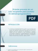 Un eficiente proceso en un solo recipiente para.pptx