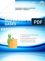 Modelamiento de Dispersion de Gases 09-07-2016