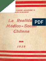 La Realidad Medico Social Medico Salvador Allende