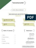 Assign No 5 - Architectureof Indonesia