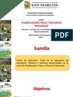 introducción a la planificación física y RR. NN.
