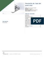 Base Del Panel Solar-Análisis Estático 1-1
