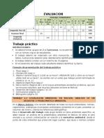 Evaluacion y Trabajo Practico II 2014