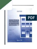 (hospitales)R.M. N°482-96-SAI_NT PARA PROYECTOS DE INFRAESTRUCTURA HOSPITALARIA