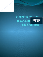 Control of Hazardous Energies Powerpoint