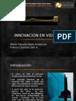 Innovaciones en Vidrio