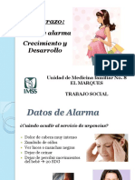 Signos y Síntomas de Alarma en el Embarazo