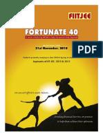 Brochure FIITJEE Fortunate 40