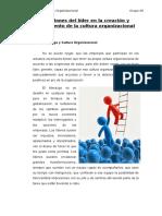 Funciones del líder en la creación y mantenimiento de la cultura organizacional