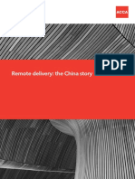 China Shared Services Overview
