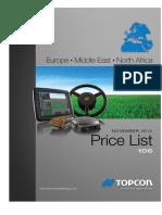 EAME Price Book November 2015