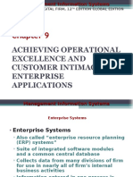 Achieving Operational Excellence and Customer Intimacy