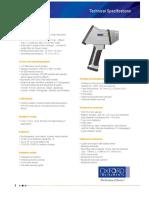 Technical Specs. - X-MET8000 Smart