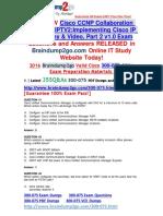 (2016 Jul. Latest)exam 300-075 VCE 355Q&as Offer(41-50)
