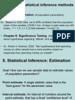5. Estimation
