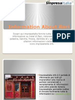 Information About Bari