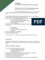 Senior Highschool Bulletin