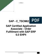 C TSCM62 64 Dump Sample
