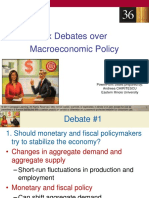 Chapter 36_Six Debates Over Macro Policy