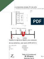 Ejemplo de Diseño de Conexiones Simples
