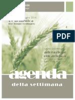 Comunità pastorale di Uggiate-Trevano e Ronago Agenda della Settimana