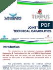 unison   tempus - technical presentation