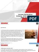 Income Declaration Scheme, 2016 – Effective Rate of Tax?