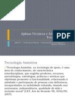 Ajudas Tecnicas e Adaptações Tecnológicas