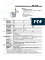 Fisa Tehnica Sursa 24Vdc - DR-120