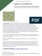 Nanotecnologia – a Enciclopédia Livre