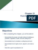 Chapter 21 - Oxyacetylene Cutting