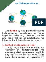 Mga Salik na Nakaaapekto sa Klima.docx