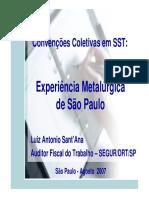 Apresentação Convenções Coletivas SST