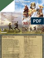 Age of Mythology Manual