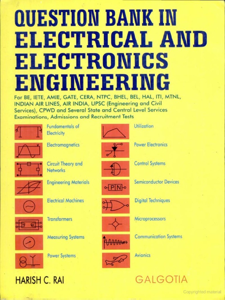 Galgotia question bank in electrical and eelectronics engineering galgotia question bank in electrical and eelectronics engineering bby rai fandeluxe Choice Image
