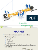 Demand and Supply Market
