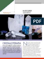 Rocco Carbone in Natura Felicitas 16 Cristalloterapia