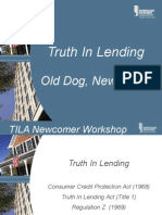 TILA presentation slides from the Mortgage Bankers Association