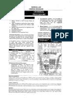 San Beda 2011 Remdial Law (Criminal Procedure)